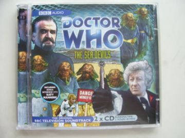 Doctor Who The Sea Devils CD Soundtrack Jon Pertwee